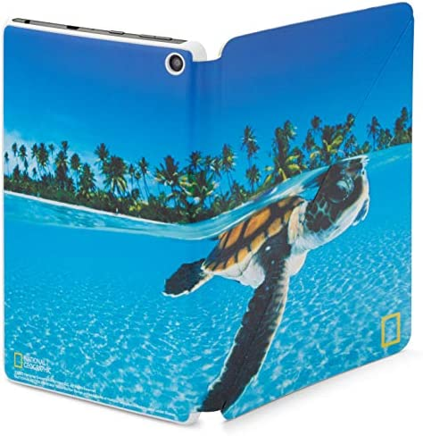 Amazon Fire HD 8 Cover, National Geographic, Turtle, suitable with tenth era pill, 2020 free up