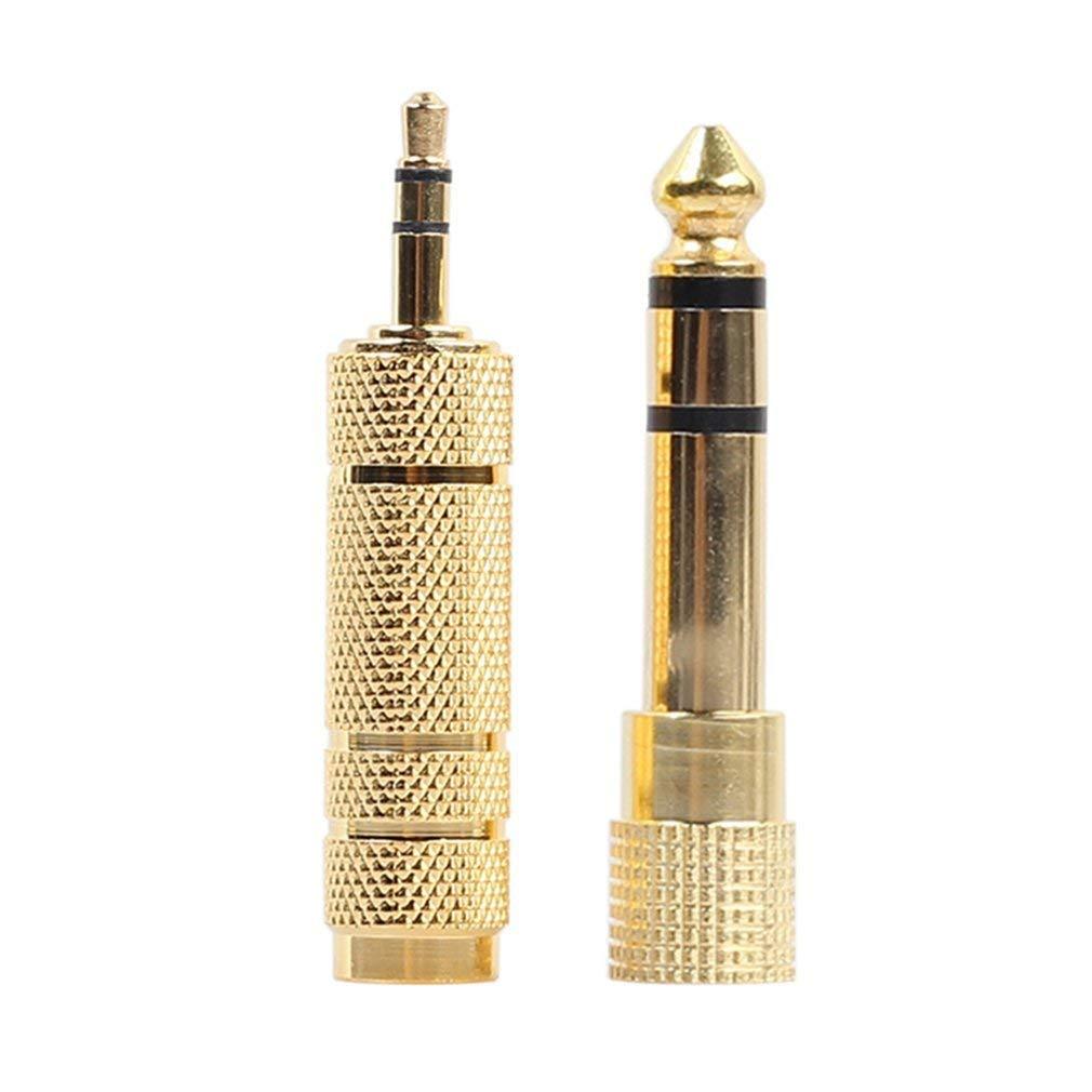 Adaptateur Jack 3.5mm m/âle vers 6.35mm Femelle Adaptateur Jack 6.35mm m/âle vers Jack 3.5mm Femelle