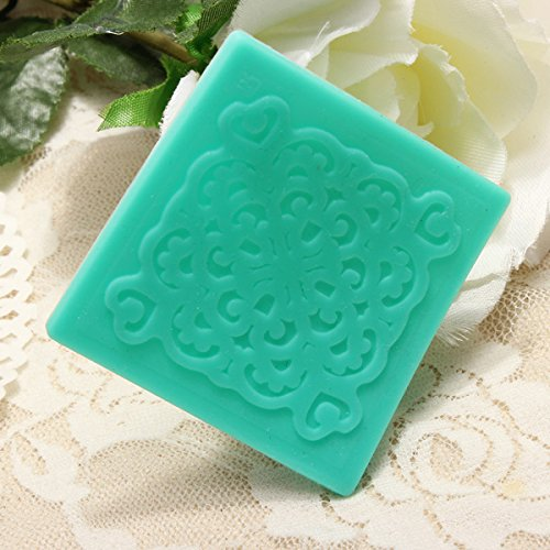 Lace Hollow-out Window Silicone Sugar Cake Mold