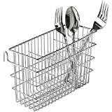 Value Saving, Utensil Drying Rack, includes 3 compartments, Chrome finish