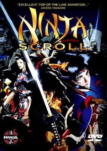 Pop Culture Graphics Ninja Scroll Poster Movie 27x40
