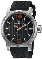 Oceanaut Men's OC2113 Spider Analog Display Quartz Black Watch