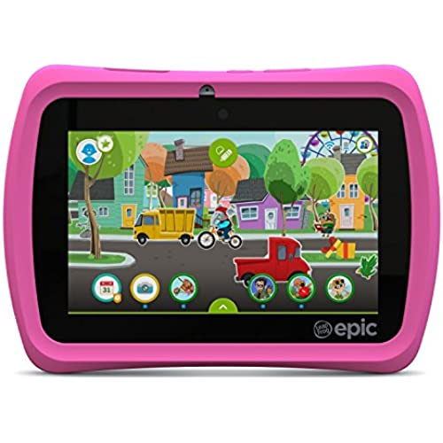 LeapFrog Epic 7 Android-based Kids Tablet 16GB, Pink Coupons