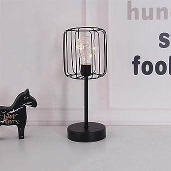 Wankd Lámparas de mesa Vintage,Lámparas LED de mesa Diseno Copa de ...