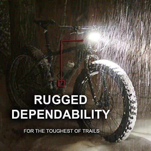 1600 Lumen Mountain, Road Bike Headlight, 6400mAh Battery Diffuser and TAILLIGHT