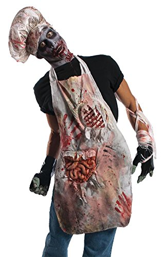 Zombie Butch Adult Costume Apron Adult Mens Costume