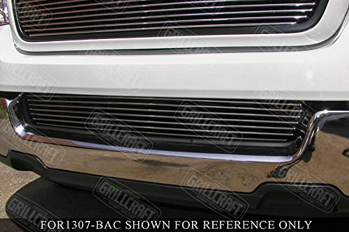 Grillcraft FOR1303-BAC BG Series Polished Aluminum Lower 1pc Billet Grill Grille Insert for Ford Expedition -