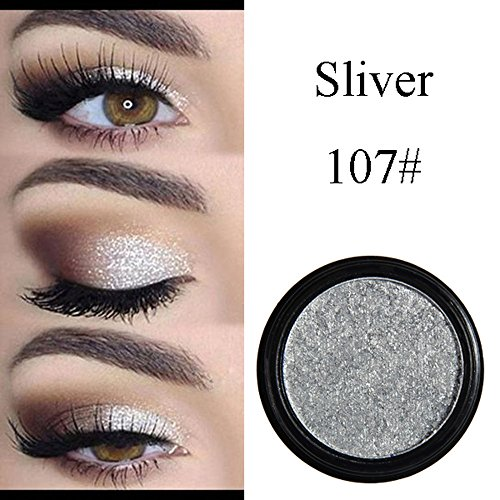 Elaco Glitter Shimmering Colors Eyeshadow Shadow Powder Rainbow Makeup Beauty Shadow Palette Colors Makeup Kit Eye Color Palette Halloween Makeup Palette Matte and Shimmer Eye Cosmetic (G)]()