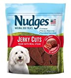 Nudges Steak Jerky Dog Treats, 16 oz Larger Image