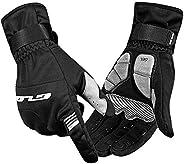 Cycling Gloves Touch Screen Warm Waterproof Windproof Biking Winter Outdoor
