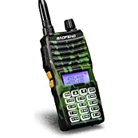 Baofeng - UV-5XTP 8W Dual Display VHF136-174MHz UHF400-520MHz Handheld Two-way Radio Standby Transceiver Walkie Talkie