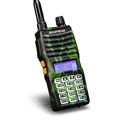 Retevis RT41 Walkie Talkie Rechargeable FRS VOX Roger Beep LCD 10 Call Tone NOAA Weather Alert Security Business Two-way Radio with Earpiece 10 Pack