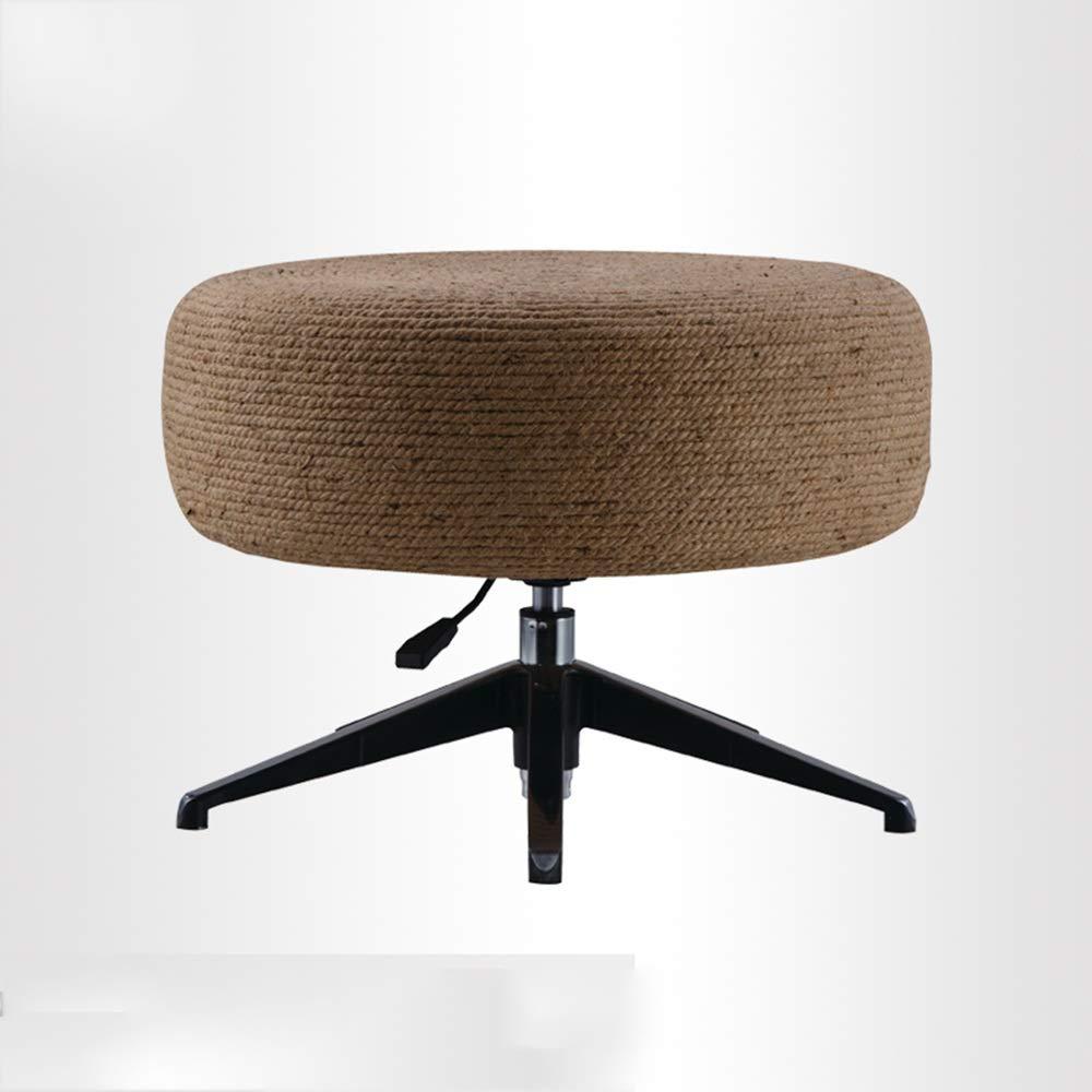 QFFL 変更靴ベンチ、手織りの短いスツール、衣料品店の座席、スツール、3色、サイズオプション アウトドアスツール (色 : C, サイズ さいず : 68cm 68 cm) B07KR7JGSF C 68cm 68 cm
