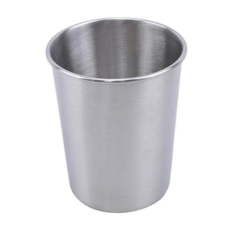 SHIJIAN Vaso de Acero Inoxidable para Bebidas frías, Apto ...