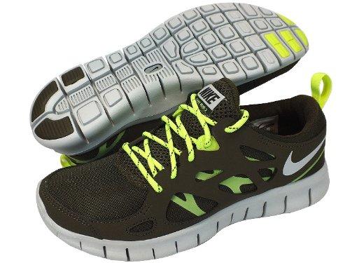 Nike Free Run 2 (gs) Kjører Trenere 443742 307 Joggesko Sko