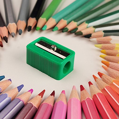 AB Art Supplies - 36 Adult Coloring Pencils - Pre-sharpened with Soft Pastel Colors & Hexagonal Grip for Ease of Use - Includes Free - Colors Hexagonal