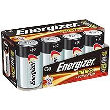 Energizer Max Premium C Cell Alkaline Batteries, 8-Count
