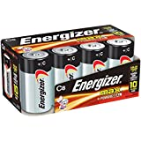 Energizer C Cell Batteries, Max Alkaline C Battery Size, (8 Count)