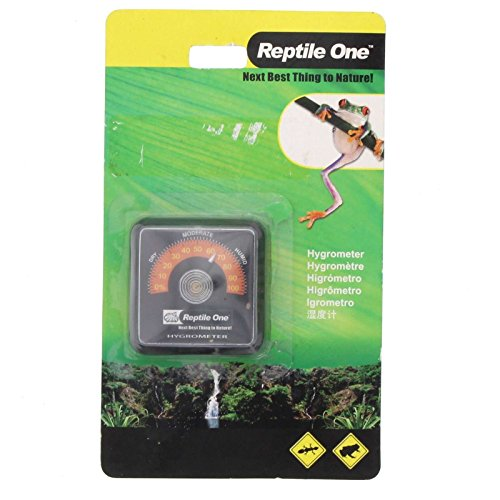 Reptile One Stick-On Hygrometer by Aqua One