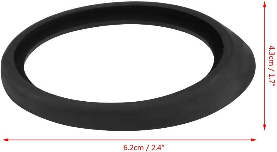 Antenna Rubber Seal Car Roof Aerial Antenna Base Rubber Gasket Seal for Black
