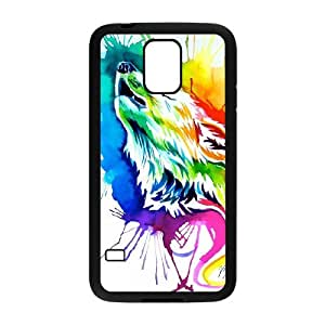 Wolf Totem Art Pictures PC Hard Plastic phone Case Cover For Samsung Galaxy S5 ZDI015999