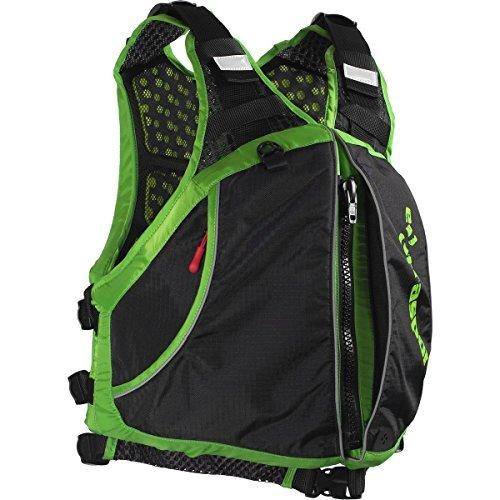 Extrasport Men s Evolve Life Jacket Apple Green Black Large
