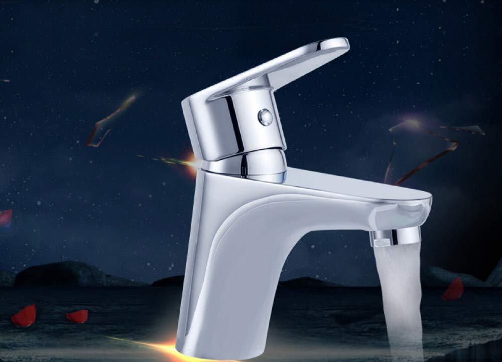 Wasserhahn Bad Waschtischarmatur Becken Wasserhahn Kupfer Waschen Einzigen EinlocHöheißer Und Kalter Wasserhahn