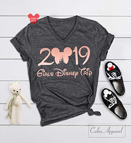 Girls Disney Trip Shirts, Ladies Disney Shirts, Matching Disneyland Shirts, Girls Disney Tank Tops, Women's Disney Outfit ()
