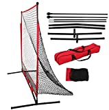 Training Aids Baseball & Softball Practice Net Training Aids W/Carry Bag Portable (5''x5'')