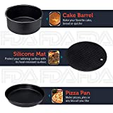 Ultrean Air Fryer Accessories, Set of 6 Fit All