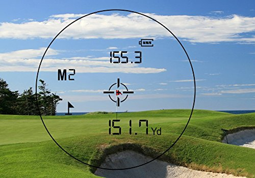 Precision Pro Golf NX7 Pro Laser Rangefinder - Golfing Range Finder with Slope and Non-Slope Feature - Perfect Golf Accessory by Precision Pro Golf (Image #5)