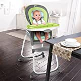Ingenuity Trio 3-in-1 High Chair - Vesper 4-Wheel - High Chair, Toddler Chair, and Booster