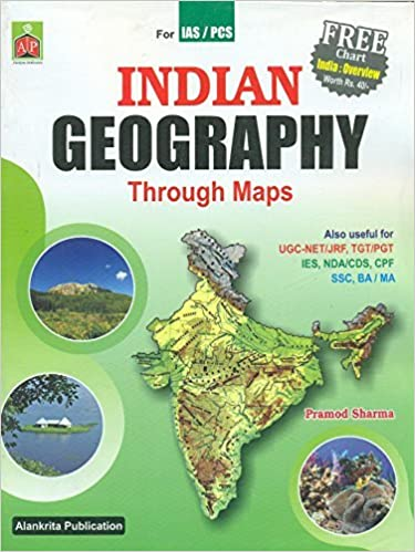 Geography Through Maps Buy Indian Geography Through Maps For IAS/PCS Examinations Book
