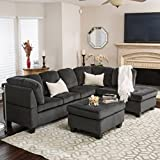 Amazon.com: 3 Pieces - Living Room Sets / Living Room Furniture ...