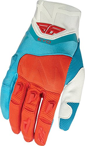Fly Racing Unisex-Adult Evolution Gloves Red/White/Blue Size 11