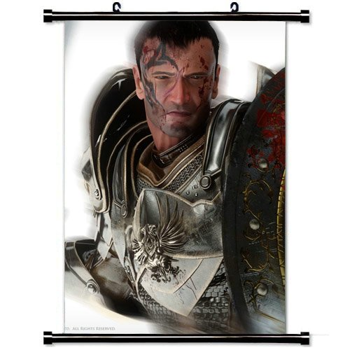 Modern style Home Decor Custom Poster with Dragon Age Origins Hawke Sword Shield Armor Wall Scroll Poster Fabric Painting 23.6 X 35.4 Inch (60cm X 90 cm)