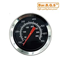 Bar.B.Q.S Barbecue BBQ 52mm Grill Oven Thermometer Smoke Grill Thermometer 01T03 New