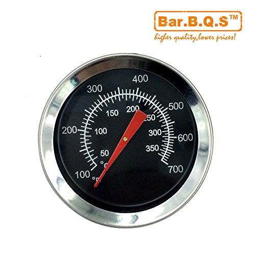 Bar.b.q.s Replacement 2″ Heat Indicator for Select Gas Grill Models By Charbroil, Chargriller 5050 and Others