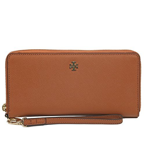 Tory Burch York Ladies Small Leather Zip Passport Continental Wallet 40882210