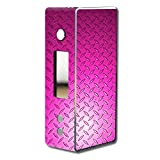 Skin Decal Wrap for Dovpo Guardian 7.5 75W mod skins sticker vape Pink Diamond Plate