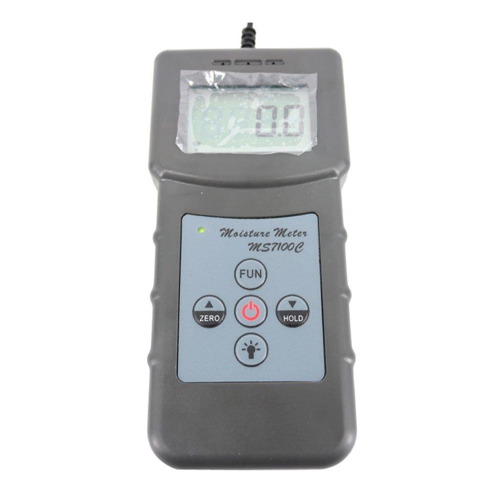 Graigar MS7100C Digital Cotton Lint Moisture Meter Tester Measuring Range 7%-40% MS-7100C