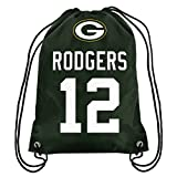 NFL Green Bay Packers Aaron Rodgers Drawstring Backpack, 18 In. X 13.5 In.