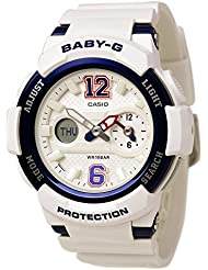 G-Shock Unisex BGA-210-7B2CR White One Size