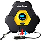 Audew Portable Air Compressor Pump, Auto Digital Tire Inflator, 12V 150 PSI Tire Pump for Car, Truck, Bicycle, and Other Inflatables
