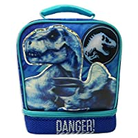 JURASSIC WORLD PARK Fallen Kingdom BPA & PVC Safe Insulated Lunch Tote Bag Box