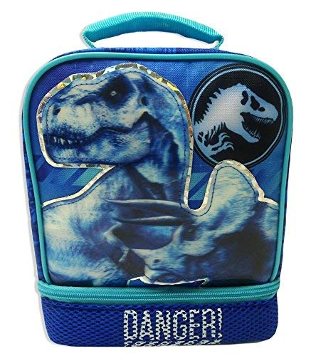 (JURASSIC WORLD PARK Fallen Kingdom BPA & PVC Safe Insulated Lunch Tote Bag)
