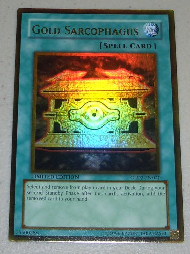Yu-Gi-Oh! - Gold Sarcophagus (GLD2-EN040) - Gold Series 2 - Limited Edition  - Rare
