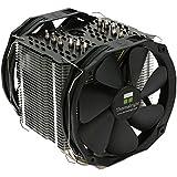 Thermalright Macho X2 Processor Cooler - Ventilador de PC (Procesador, Enfriador, Socket AM2, Socket AM3, Socket AM3, Socket AM3+, Socket B (LGA 1366), Socket FM1, Socket FM2, Socket, Intel: Socket LGA 775/1150/1151/1155/1156/1366/2011/2011-3, Negro, Gris, Aluminio)