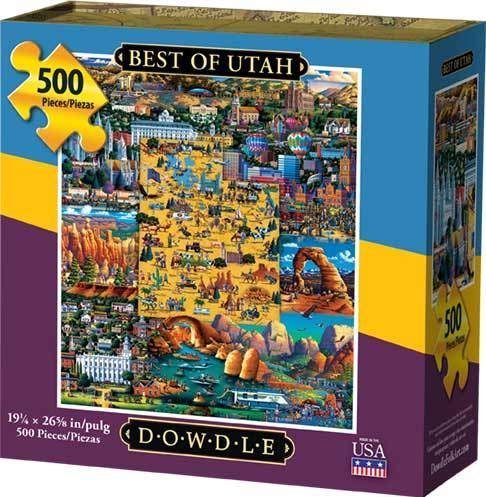 (Dowdle Jigsaw Puzzle - Best of Utah - 500 Piece )