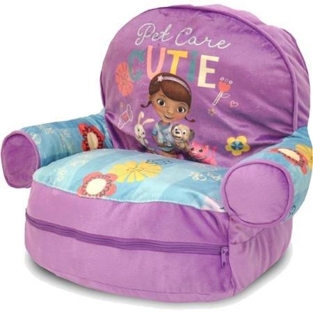 Durable Doc McStuffins Bean Bag Slumber Sofa